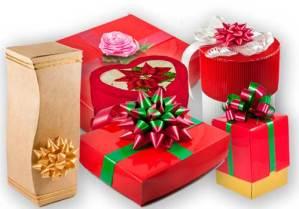 Adivina quién la pega en los regalos