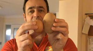 Un huevo que carga un huevo, que tiene un huevo, que carga un huevo (Imágenes)