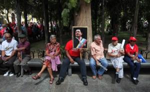 Otro acto oficial sin Chávez