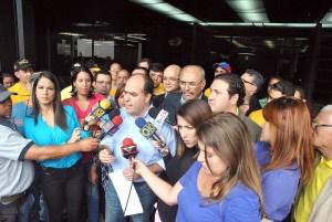 Julio Borges denunció ante la Fiscalía actos de violencia dentro de la AN (Video)