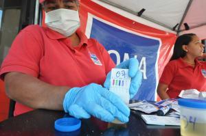 ONA aumenta operativos antidrogas en terminales de pasajeros (FOTOS)