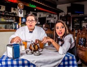 """Karen Ferreira y Geissler Paúl te darán de comer en """"El Mesón"""""""
