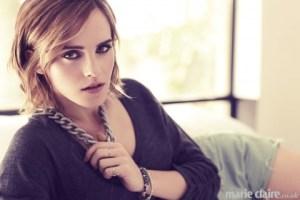 ¿Un espectáculo?… Emma Watson y su primera sesión del 2013