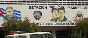 ¡Ni en Cuba! Las imágenes de Fidel y el Ché en el módulo policial de Macarao (+foto)