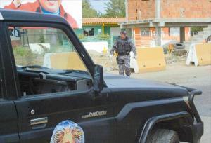 Hallaron una granada en módulo policial de Morón