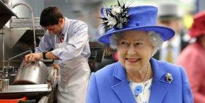 La Reina Isabel II ofrece 23 mil dólares al año para un lavaplatos