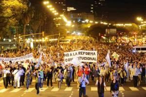 Buenos Aires batió récord en protestas sociales durante 2012