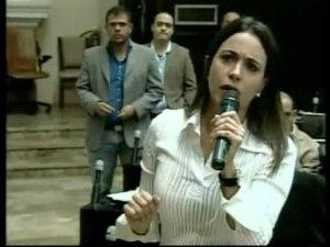 """María Corina: """"Hoy se debe definir la hora de la sesión del 10-E"""" (Video)"""