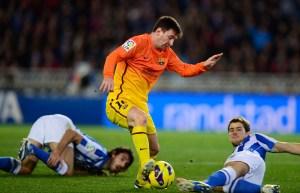 La patada que pudo arruinar la carrera de Messi