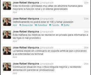 Marquina afirma que Chávez no podrá tomar posesión el 10E