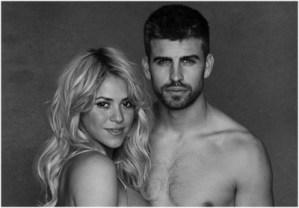 Shakira y Piqué con poca ropa (Fotos)