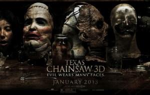 """""""La Masacre de Texas 3D"""" destrona a """"El Hobbit"""" en la taquilla"""