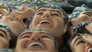"""Los """"rostros"""" del carnaval 2013 (Video)"""