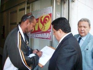 Zambrano solicitó audiencia al PCV para tratar el tema de los presos y exiliados políticos