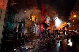 Muerte de estudiante eleva a 236 los fallecidos por incendio en Brasil