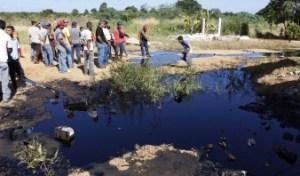 Nuevo derrame de crudo en Anaco (Foto)
