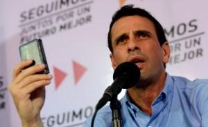 Capriles pide a TSJ que se pronuncie sobre crisis constitucional