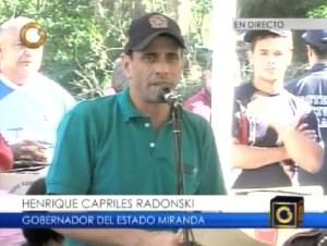Capriles: Nosotros estamos aquí para hacerle la vida más fácil a nuestro pueblo