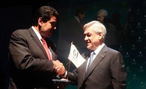 Piñera rinde homenaje a Lula, Calderón y Chávez por su impulso a Celac