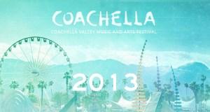 ¡Ya está aquí! Revelan cartel del Festival Coachella 2013