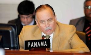 Destituido embajador de Panamá ante la OEA