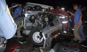 Dos muertos en accidente del Dakar con 2 taxis y auto de asistencia implicados