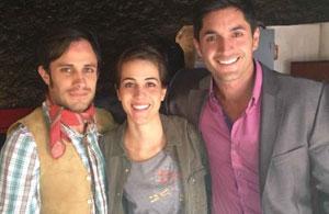 Daniel Elbittar filma película en México junto a Gael García Bernal (Fotos)