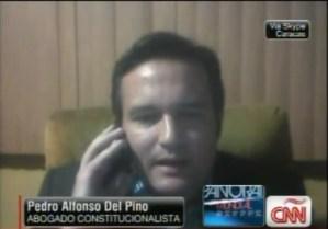 Del Pino: El período presidencial es improrrogable, termina el 10 de enero (Video)