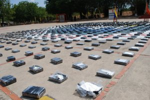 Decomisaron 500 kilos de droga en Machiques