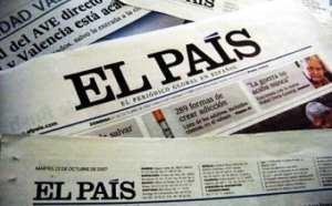 Relato de un error de El País