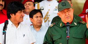 Evo Morales viajará el jueves a Venezuela para apoyar al Gobierno