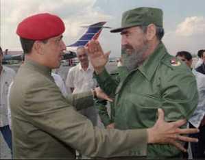 La primera visita de Chávez a Cuba hace casi 20 años (Videos)