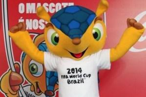 Fuleco, la mascota de Brasil 2014 une ecología y fútbol