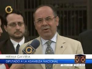 Diputado Gaviria solicitó la destitución de miembros de la Sala Constitucional del TSJ