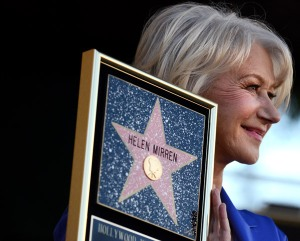 Helen Mirren tiene ya su estrella en el Paseo de la Fama de Hollywood