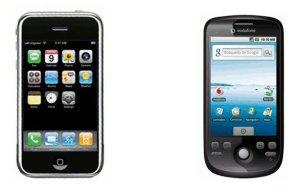 iPhone domina mercado estadounidense, Android lidera el mundial