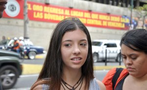 Ivana Simonovis en la voz de los venezolanos (Video)