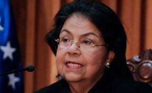 Luisa Estella Morales sin votos para presidencia del TSJ