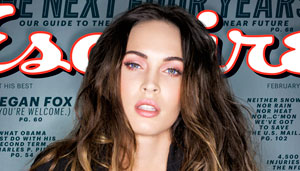 Megan Fox no persigue la fama, está huyendo de ella (Foto súper sexy)