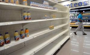 Demanda de alimentos cayó 7% tras devaluación, escasez y altos precios