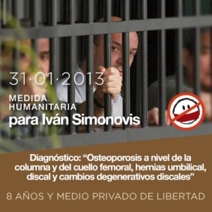 Un Mundo Sin Mordaza exige medida humanitaria para Iván Simonovis