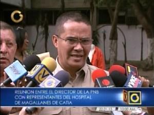 Director de la PNB se reúne con representantes del Hospital Magallanes de Catia