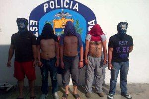 """Detienen a 5 """"aberrados"""" en Mérida"""