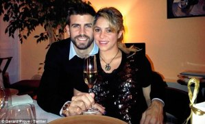 Shakira y Piqué reciben el 2013 con buenos deseos (Fotos)