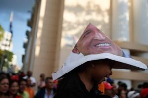 Con Chávez en la cabeza (Fotos)