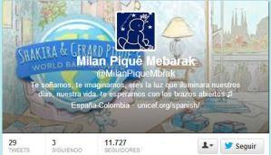 Esta es la cuenta Twitter del bebé de Shakira