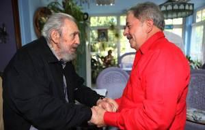 Lula se reunió con los hermanos Castro pero no con Chávez (FOTOS)