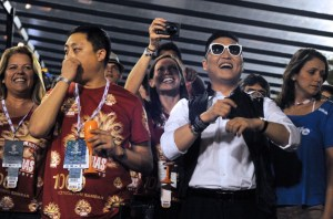 "Psy llevó el ""Gangnam Style"" a Río (Fotos)"