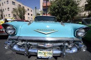 Exhibición de carros clásicos en México (Fotos)