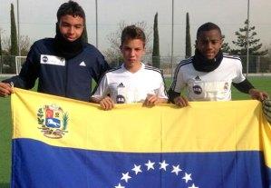 El Real Madrid se lleva a entrenar una semana a estos 3 jóvenes (Foto)